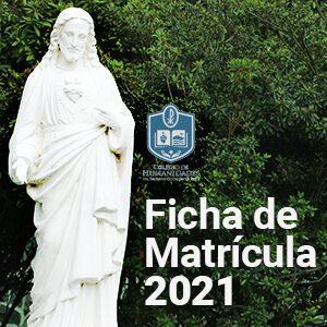¡Ya está disponible la ficha de Matrícula 2021!