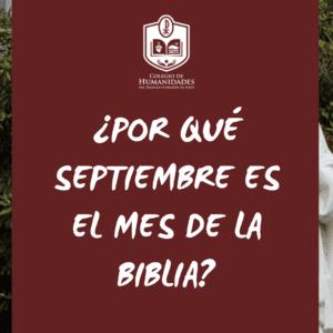 ¿Por qué septiembre es el Mes de la Biblia? (VIDEO)